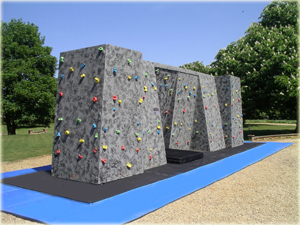Bouldering Wall hire specification