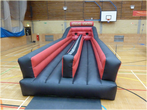 Inflatable bungee basketball game for hire
