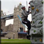 Mobile Rock Climbing Tower